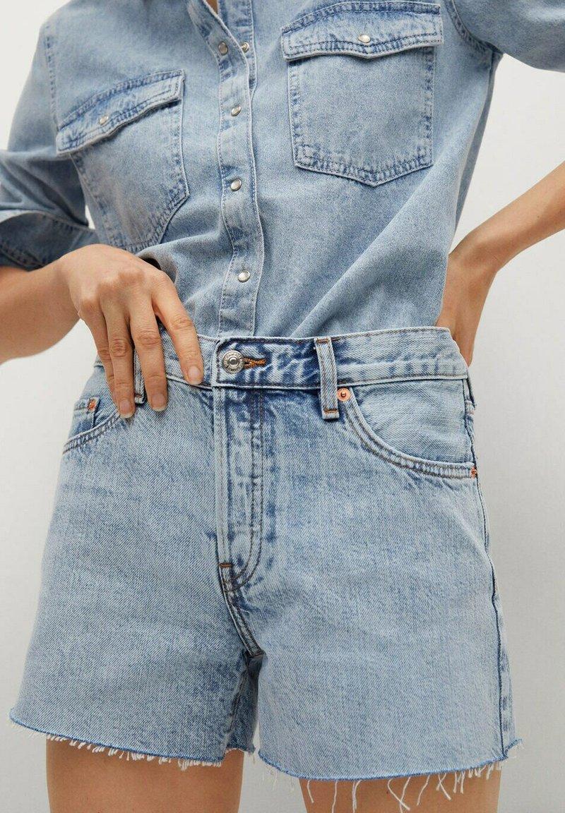 Mango - HAILEY - Szorty jeansowe - bleu clair