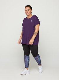 Active by Zizzi - Camiseta básica - purple - 1