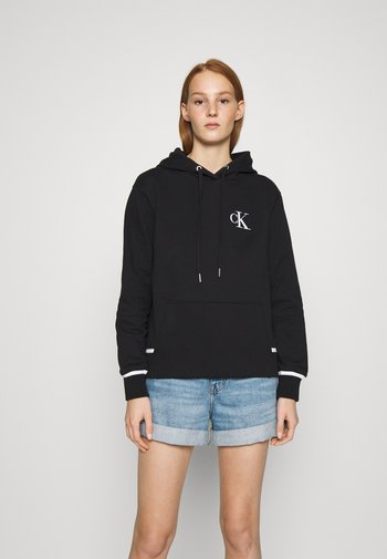 EMBROIDERY TIPPING HOODIE
