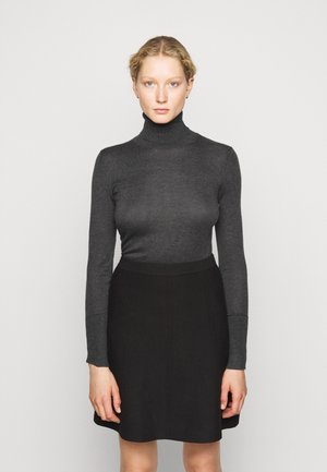 FAVORITE TURTLENECK SPECIAL - Strikkegenser - medium grey