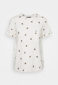 Marks & Spencer London - AUTH POCK TEE - Triko s potiskem - off-white - 5