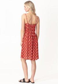 Indiska - SEFA - Day dress - red - 2