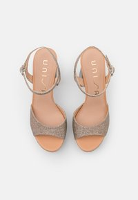 Unisa - VEGARA - Platform sandals - mumm/sunta - 5