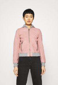 Gipsy - MOXI LULV - Leather jacket - rose - 0