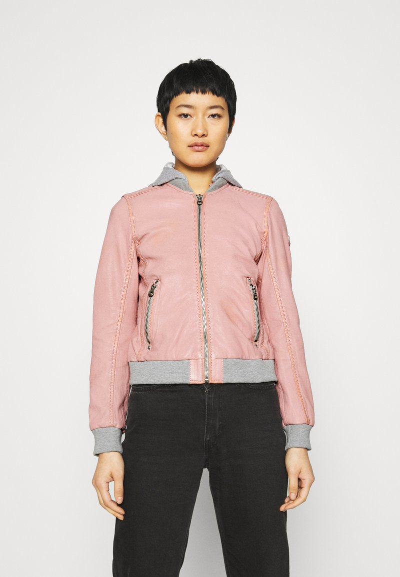 Gipsy - MOXI LULV - Leather jacket - rose