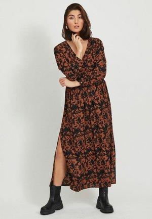 Maxi dress - tobacco brown