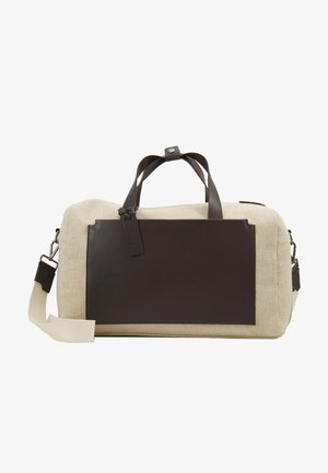 UNISEX LEATHER - Tote bag - natural