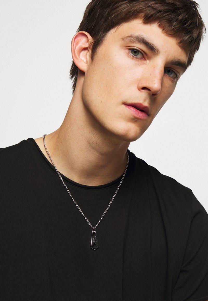 Paul Smith - MEN NECKLACE ZIP PENDANT - Collana - silver-coloured