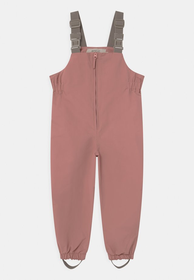 OUTDOOR ROBIN TECH UNISEX - Pantalon de pluie - antique rose