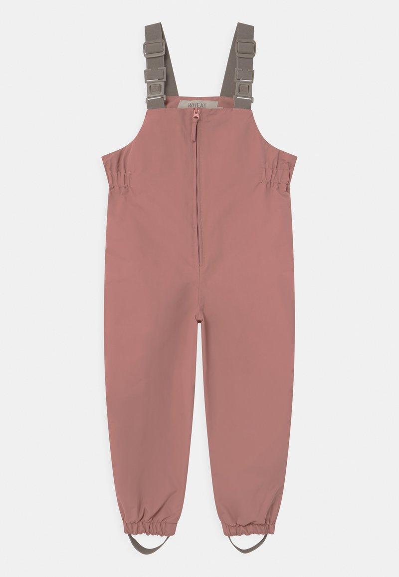Wheat - OUTDOOR ROBIN TECH UNISEX - Rain trousers - antique rose
