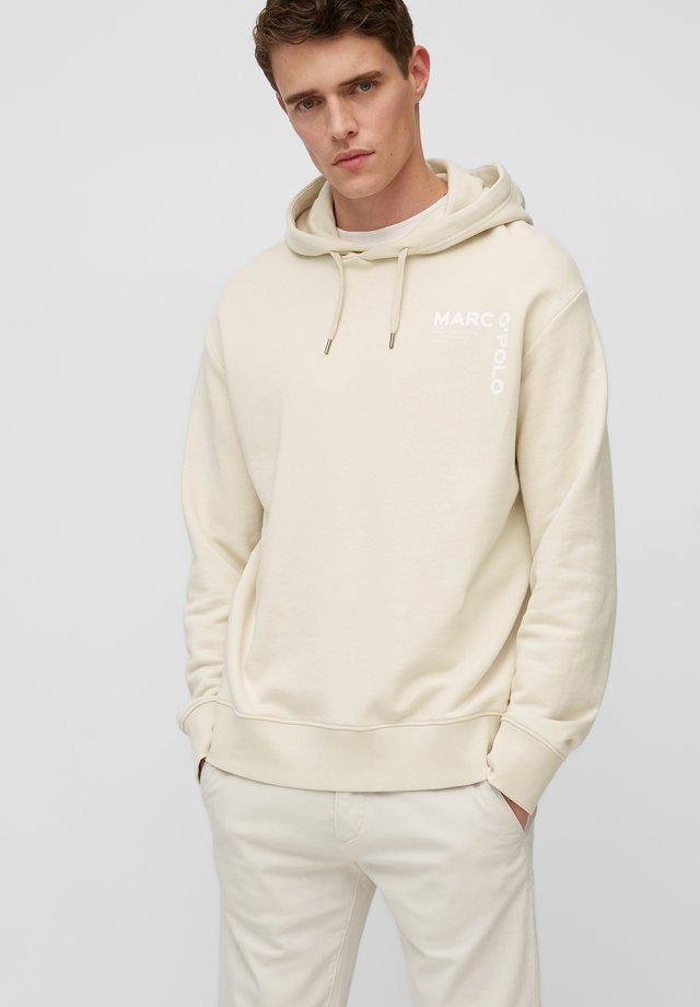 Hoodie - linen white