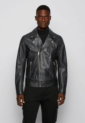 JABIN - Leather jacket - black