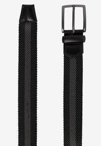 BRAX - CEINTURE POUR HOMME - Braided belt - black - 2