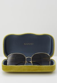 Gucci - Solbriller - gold-coloured/grey - 4