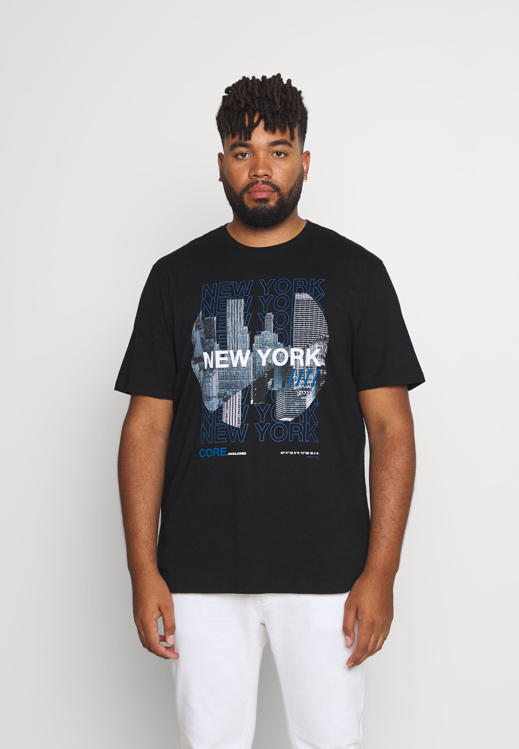 Men JCOYORK TEE CREW NECK  - Print T-shirt