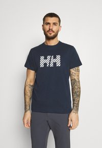 Helly Hansen - ACTIVE - Print T-shirt - navy - 0