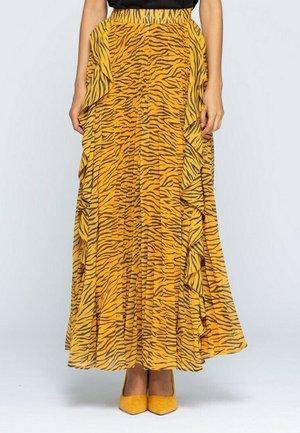 Maxi skirt - amarillo