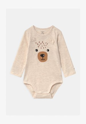 BEAR UNISEX - Body - light beige melange