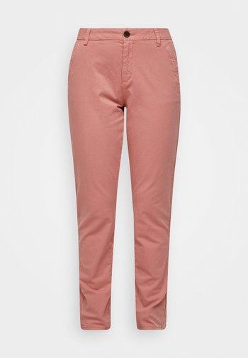 Spodnie materiałowe - blush