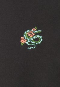 Burton Menswear London - SNAKE AND ROSE EMBROIDERED - Sweater - stone - 2