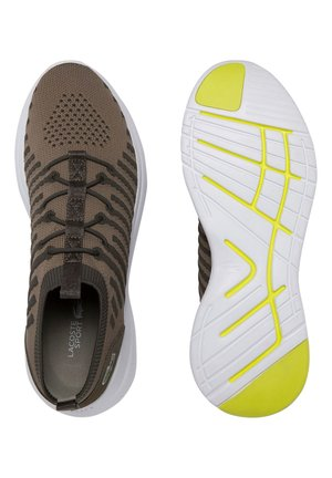 LACOSTE SPORT - CHAUSSURES HOMME SPORT - Trainers - lt khk/ylw