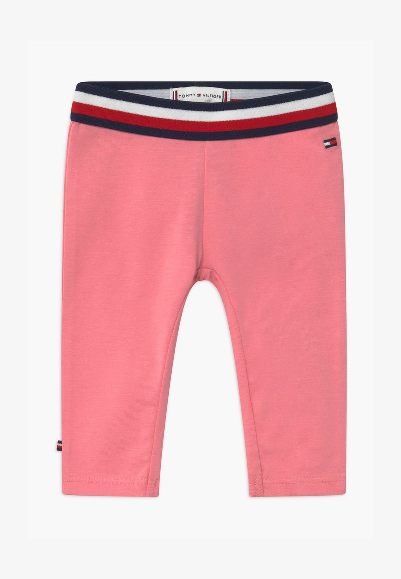 Tommy Hilfiger - BABY SOLID - Leggings - Trousers - pink