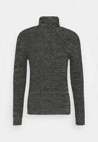 Redefined Rebel - OLIVER ROLL NECK - Jumper - black - 4