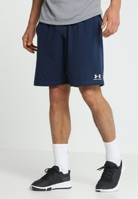 Under Armour - SPORTSTYLE SHORT - Träningsshorts - academy/onyx white - 0