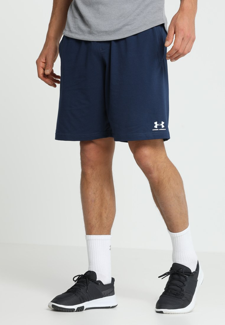 Under Armour - SPORTSTYLE SHORT - Träningsshorts - academy/onyx white