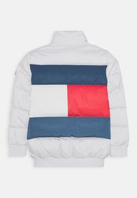 Tommy Hilfiger - REFLECTIVE FLAG BOMBER - Winterjas - white - 1