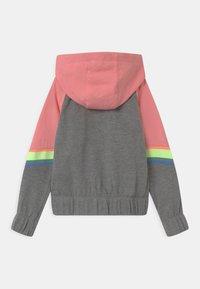 Nike Sportswear - HERITAGE  - Mikina na zip - carbon heather - 1