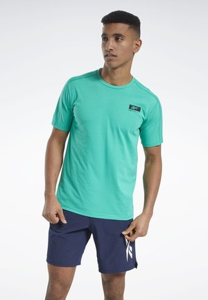 SPEEDWICK GRAPHIC MOVE T-SHIRT - Print T-shirt - green