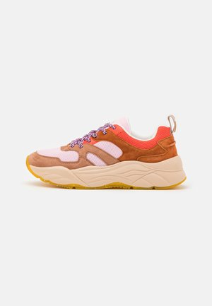 CELEST - Sneakers laag - pink/multicolor