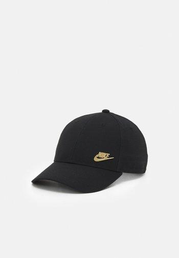 FUTURA UNISEX - Cap - black/metallic gold