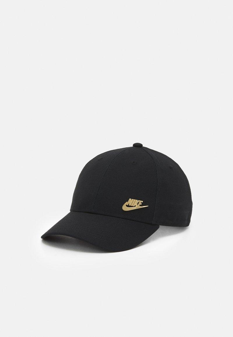 Nike Sportswear - FUTURA  UNISEX - Cap - black/metallic gold