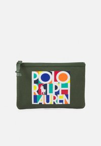 Polo Ralph Lauren - POUCH SMALL UNISEX - Wash bag - army olive - 0