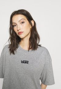 Vans - CENTER VEE TEE  - Jersey dress - grey heather - 3
