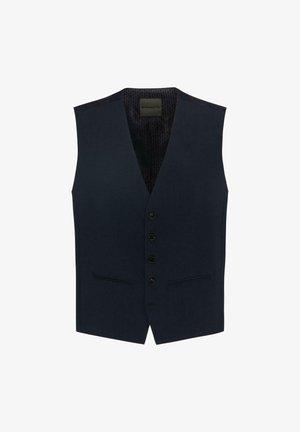 ENZO.V - Suit waistcoat - black