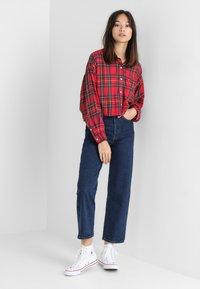 Levi's® - RIBCAGE STRAIGHT ANKLE - Straight leg jeans - blue denim - 2