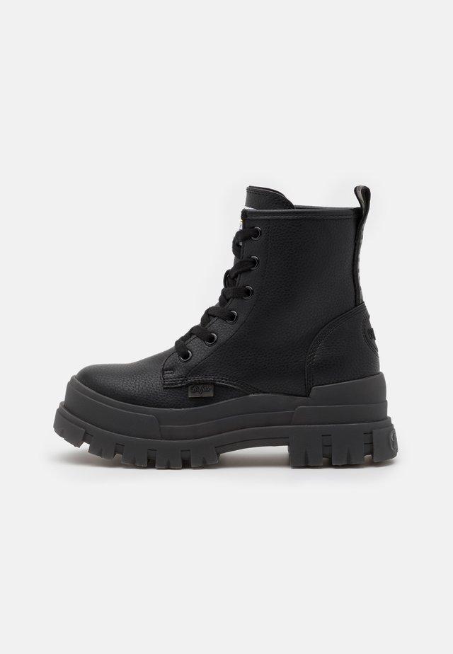 ASPHA RLD - Platform ankle boots - black