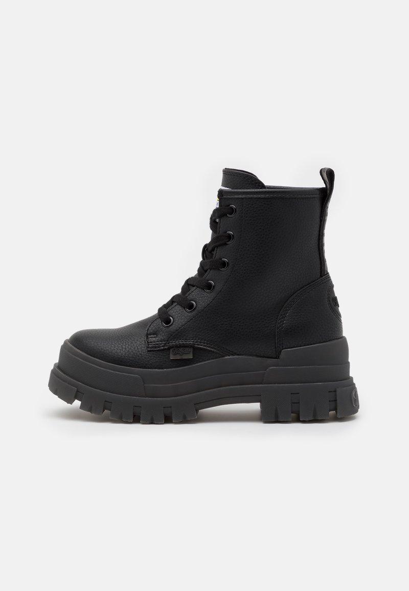 Buffalo - VEGAN ASPHA - Platform ankle boots - black
