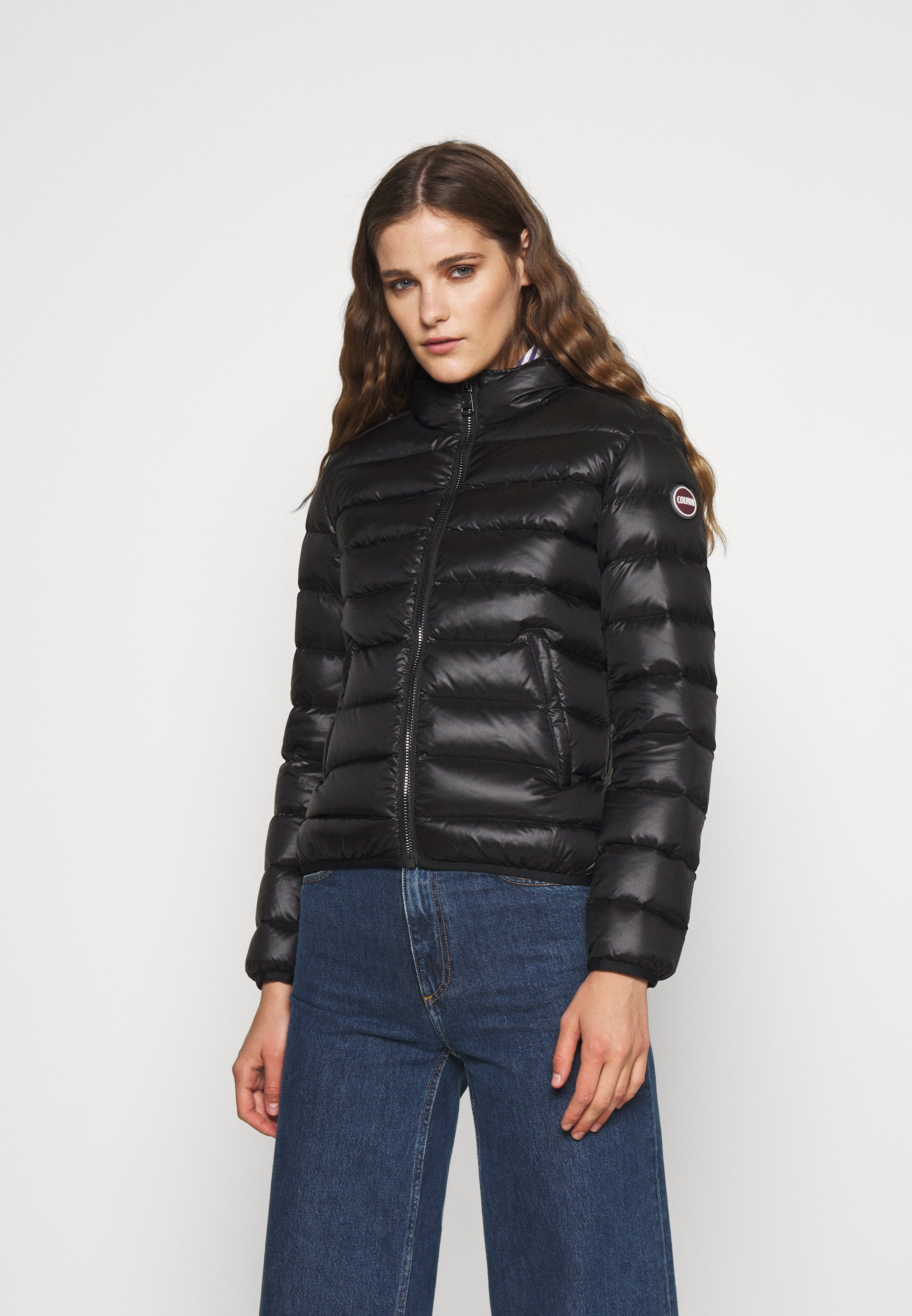 Women LADIES JACKET MATTE HOOD - Down jacket