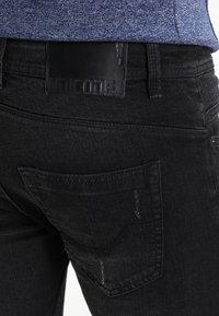 INDICODE JEANS - PALMDALE - Slim fit jeans - black - 4