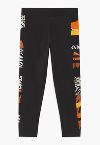 Puma - CLASSICS WILD LEGGINGS - Leggings - black - 0