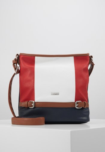 JUNA - Across body bag - mixed maritim