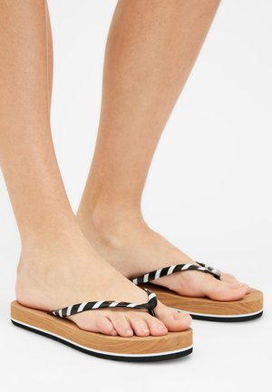 T-bar sandals - black out