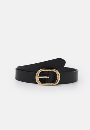 JEANS BELT - Belt - black/gold