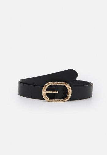 JEANS BELT - Belt - black/gold