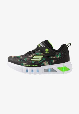 FLEX-GLOW - Trainers - black/lime