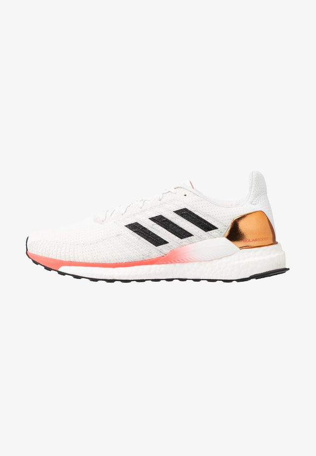 SOLAR BOOST 19 - Obuwie do biegania treningowe - crystal white/core black/copper metallic